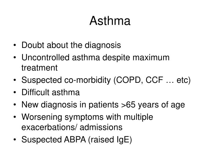 Asthma