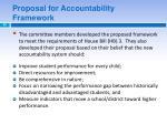 proposal for accountability framework1