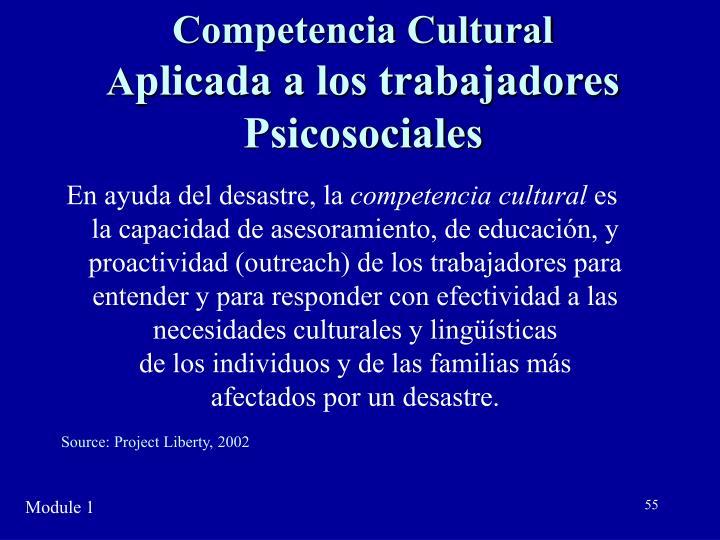 Competencia Cultural