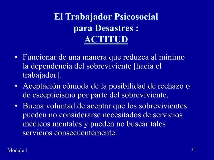 El Trabajador Psicosocial