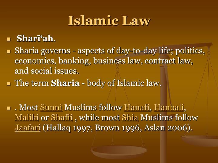 Islamic Law