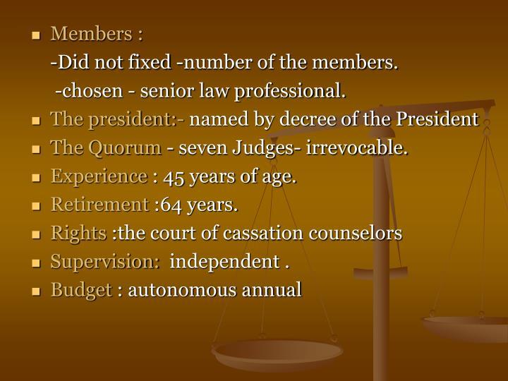 Members :