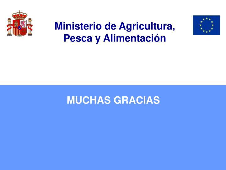 Ministerio de Agricultura,