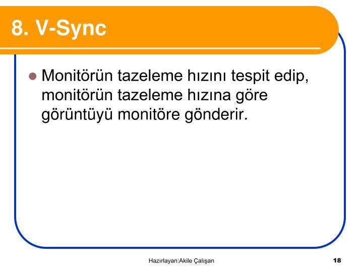8. V-Sync