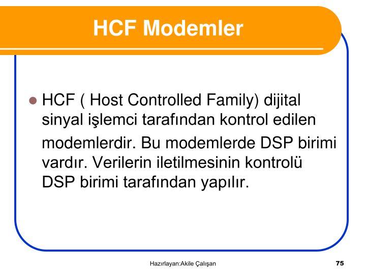 HCF Modemler