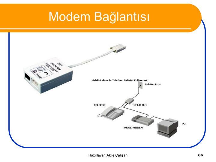 Modem Bağlantısı