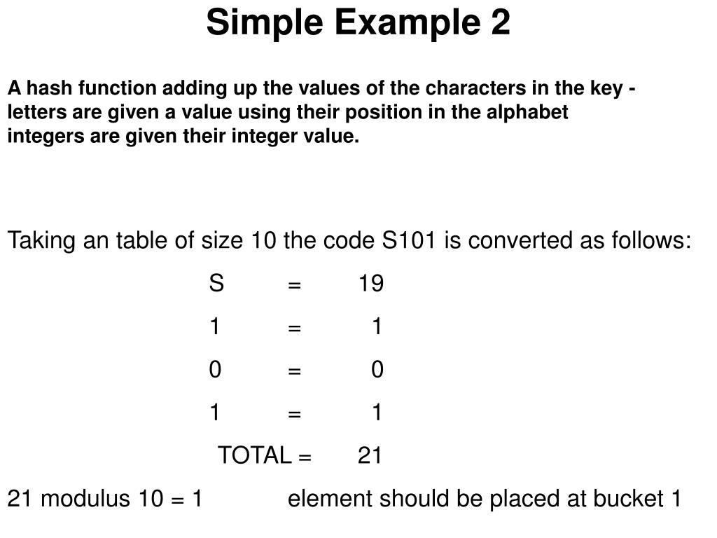 Simple Example 2