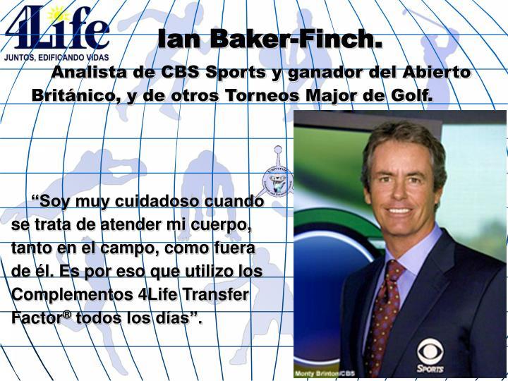 Ian Baker-Finch.