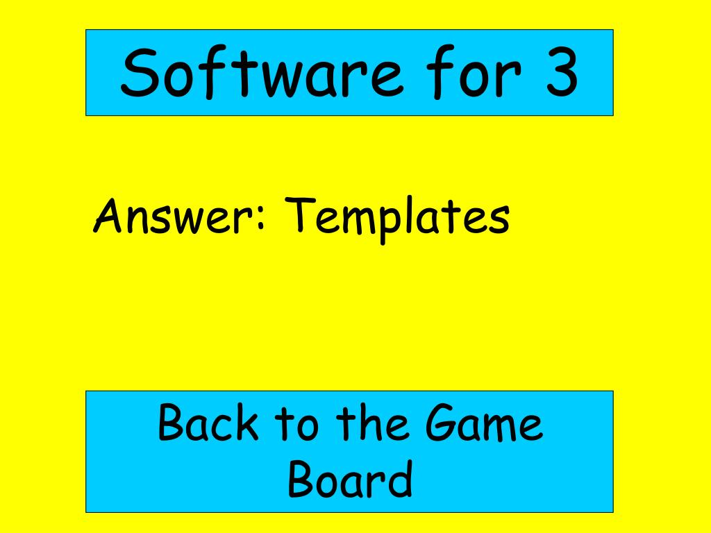 Software for 3