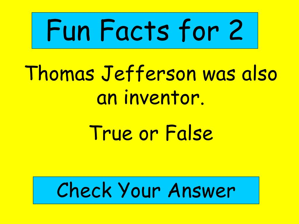Fun Facts for 2