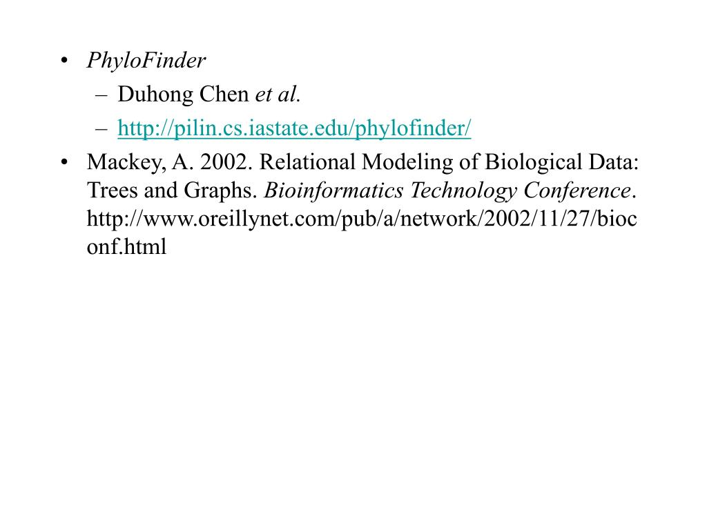 PhyloFinder
