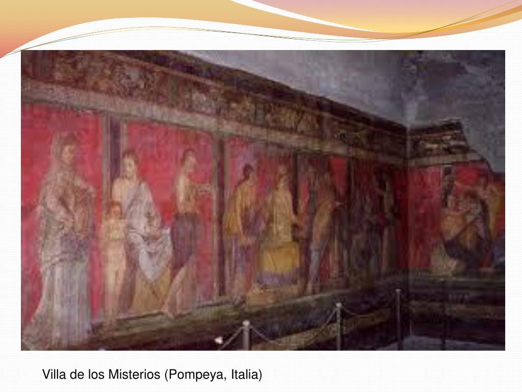 Villa de los Misterios (Pompeya, Italia)