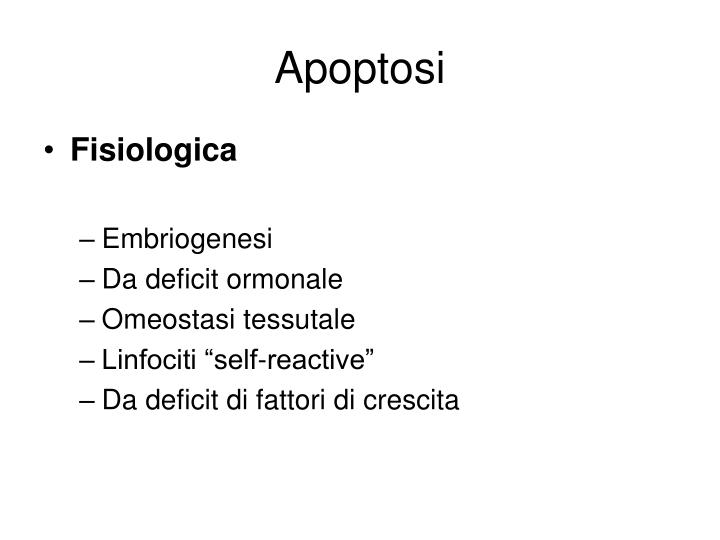Apoptosi