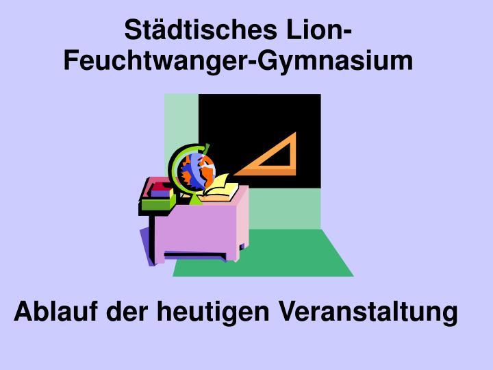 Städtisches Lion-Feuchtwanger-Gymnasium