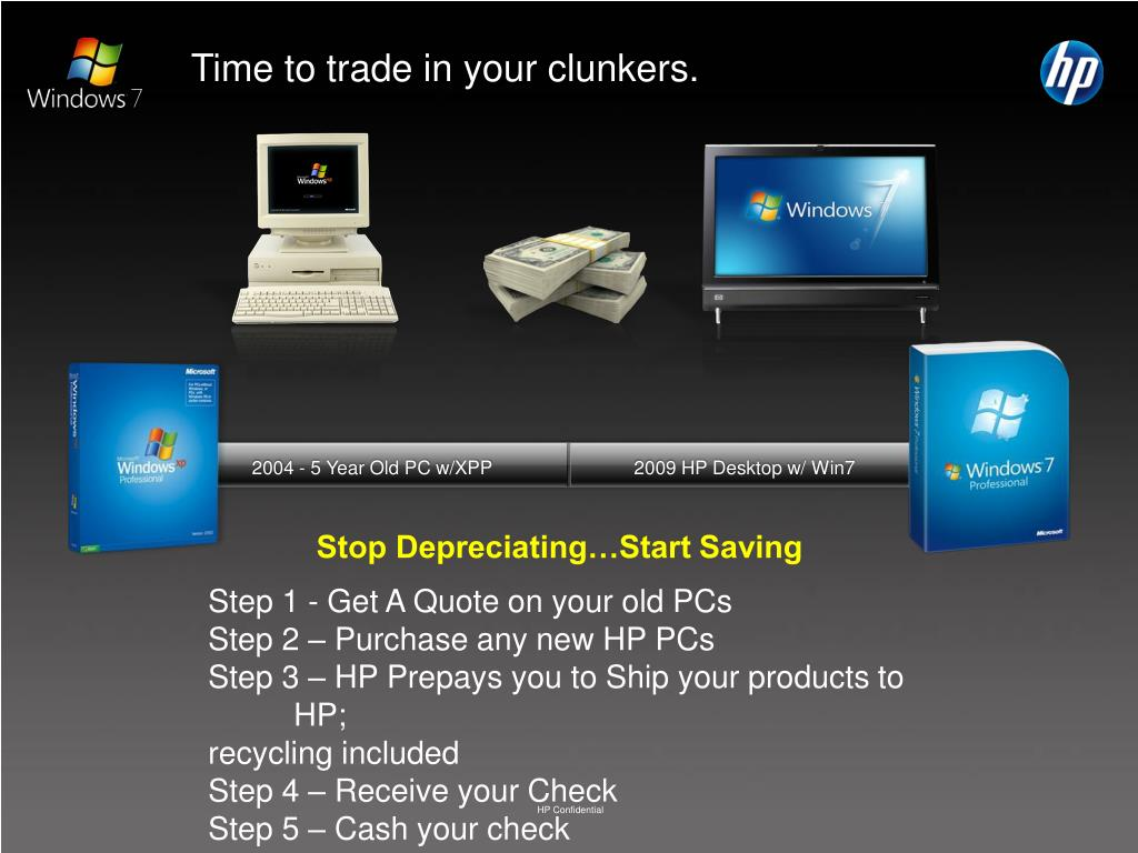Time to trade in your clunkers.