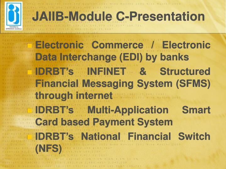 JAIIB-Module C-Presentation