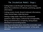 the incubation model stage 21