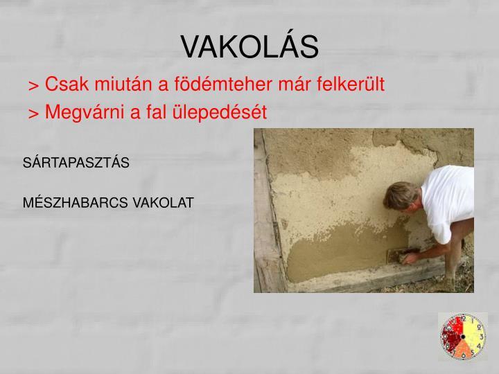 VAKOLÁS