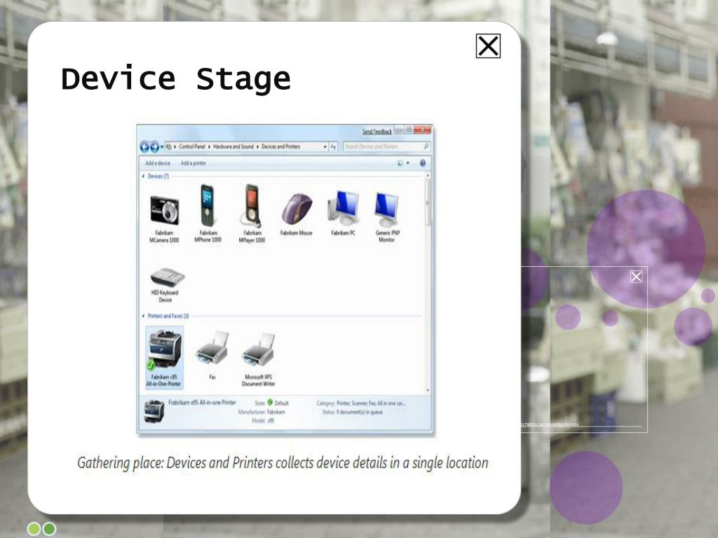 Device Stage