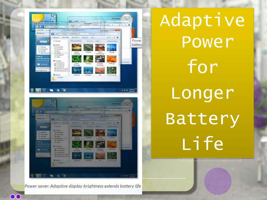 Adaptive Power