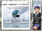 work together in office