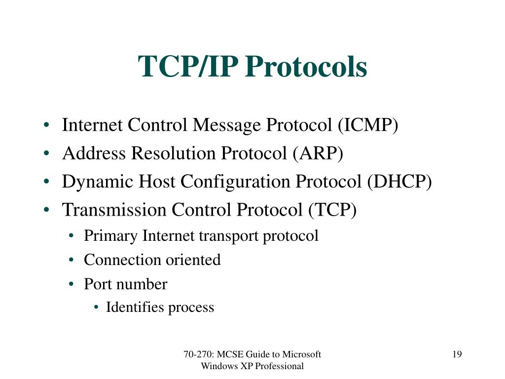 TCP/IP Protocols