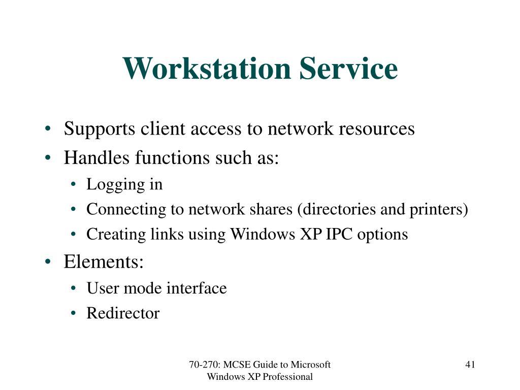 Workstation Service
