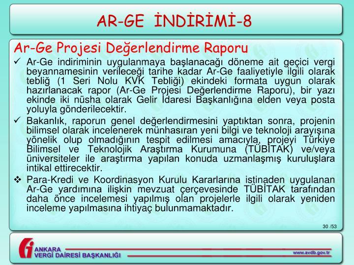 AR-GE  İNDİRİMİ-8