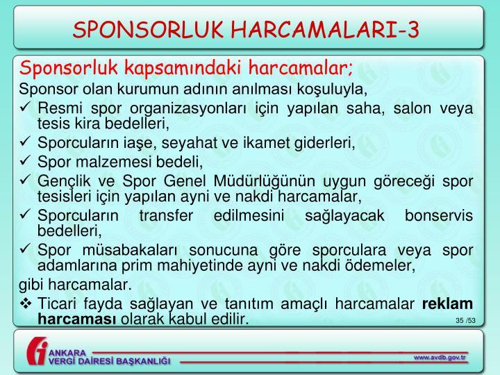 SPONSORLUK HARCAMALARI-3