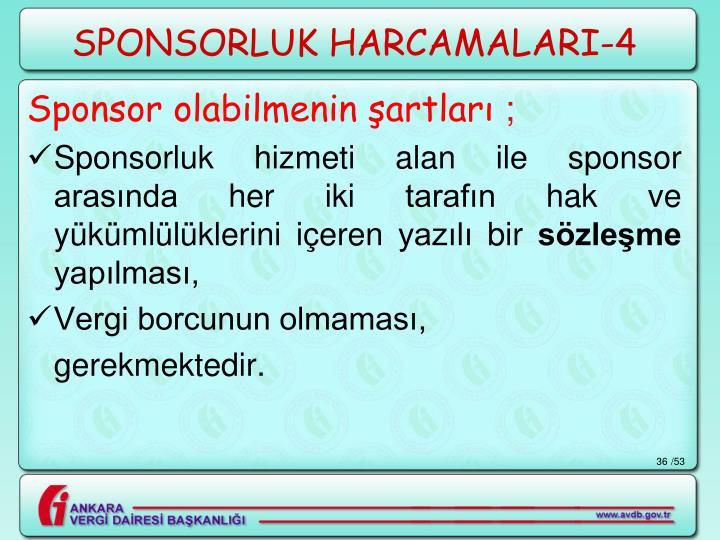 SPONSORLUK HARCAMALARI-4