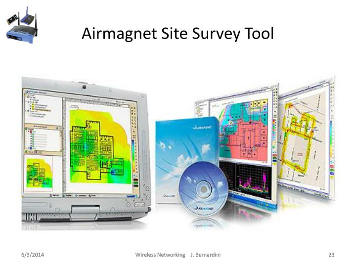 Airmagnet Site Survey Tool