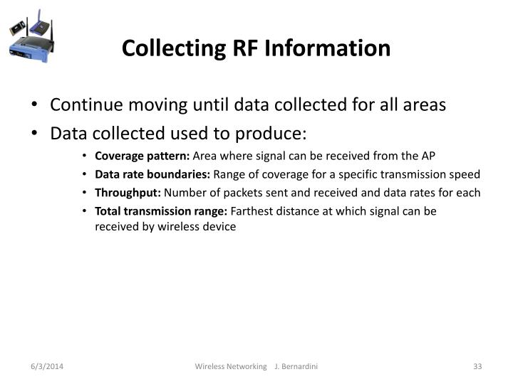 Collecting RF Information