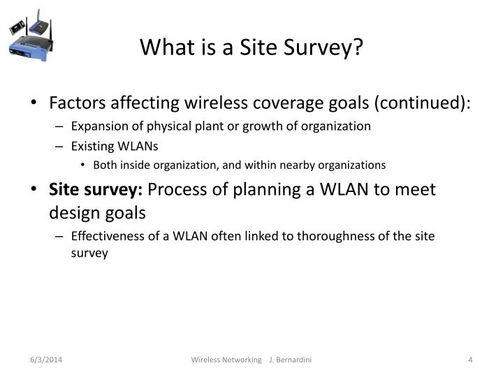 What is a Site Survey?