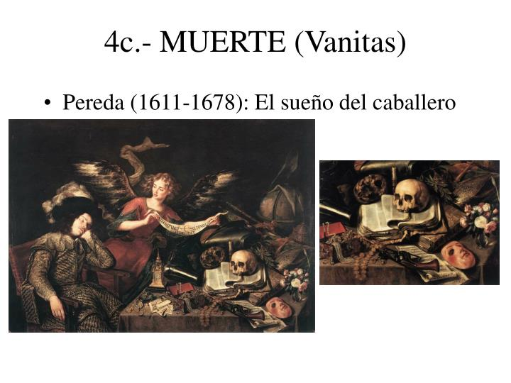 4c.- MUERTE (Vanitas)