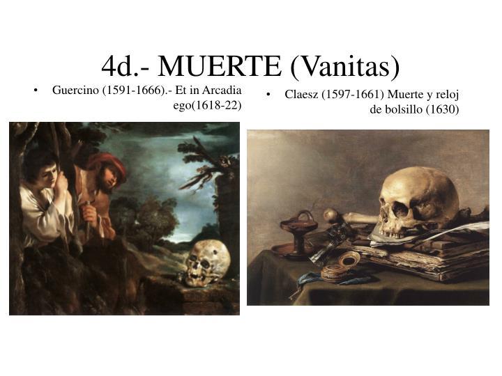Guercino (1591-1666).- Et in Arcadia ego(1618-22)