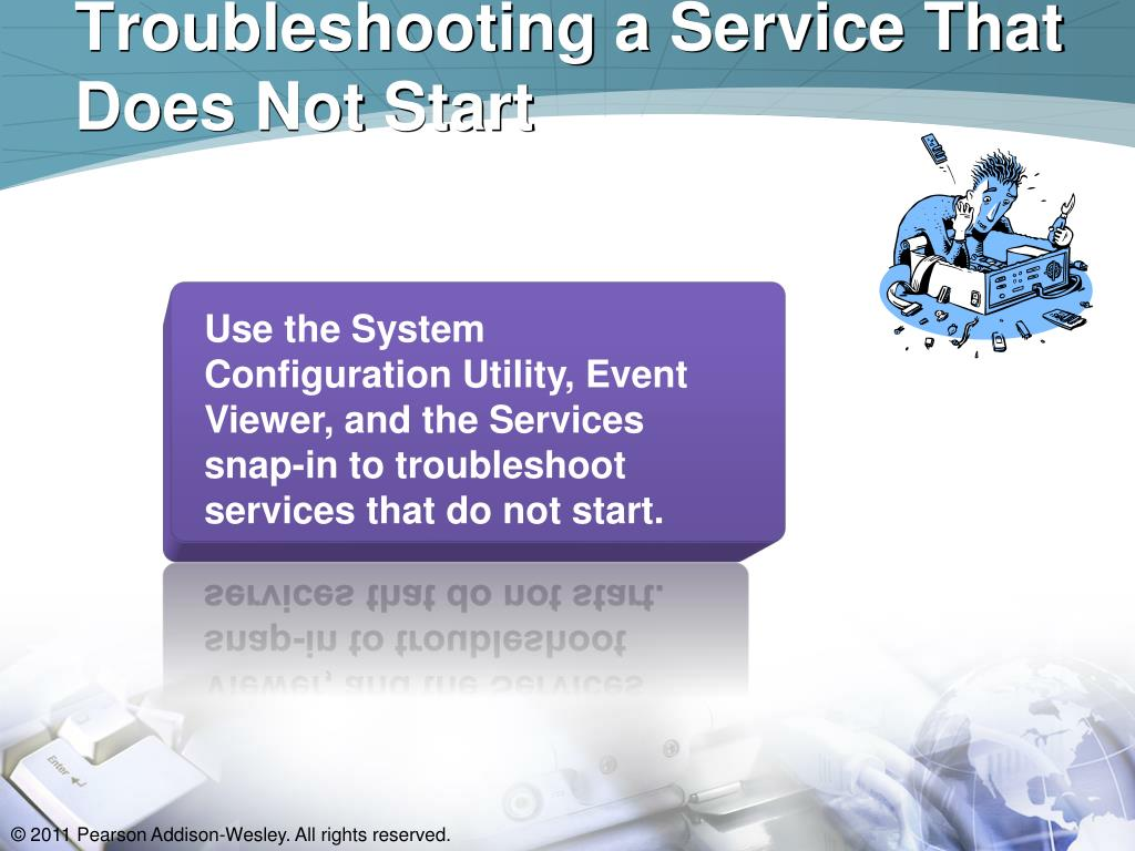 Troubleshooting a Service That Does Not Start
