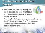 troubleshooting the boot process57