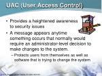 uac user access control