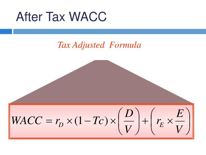 After Tax WACC