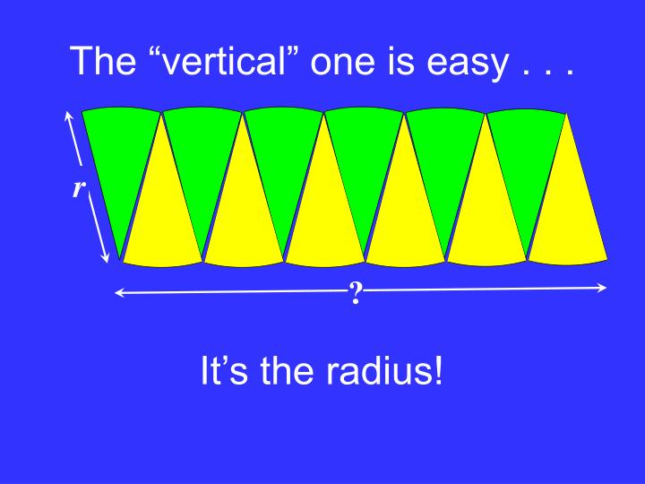 "The ""vertical"" one is easy . . ."