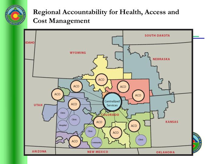 Regional Accountability for Health, Access and Cost Management