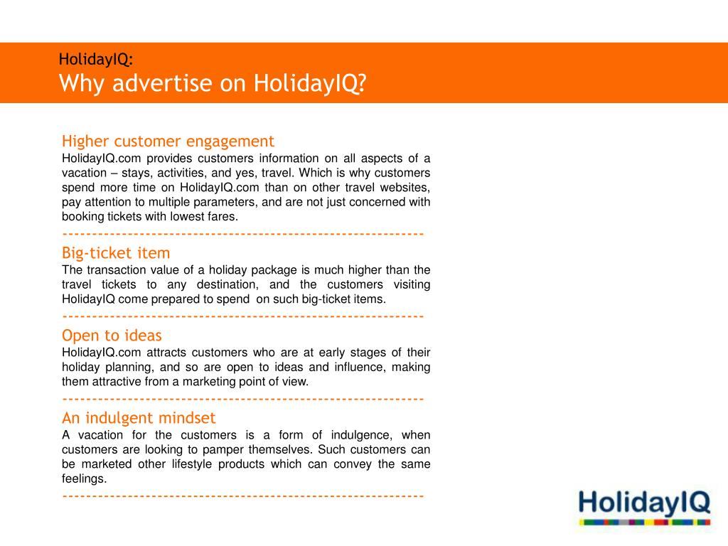 HolidayIQ:
