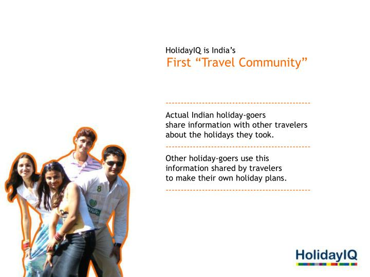 HolidayIQ is India's
