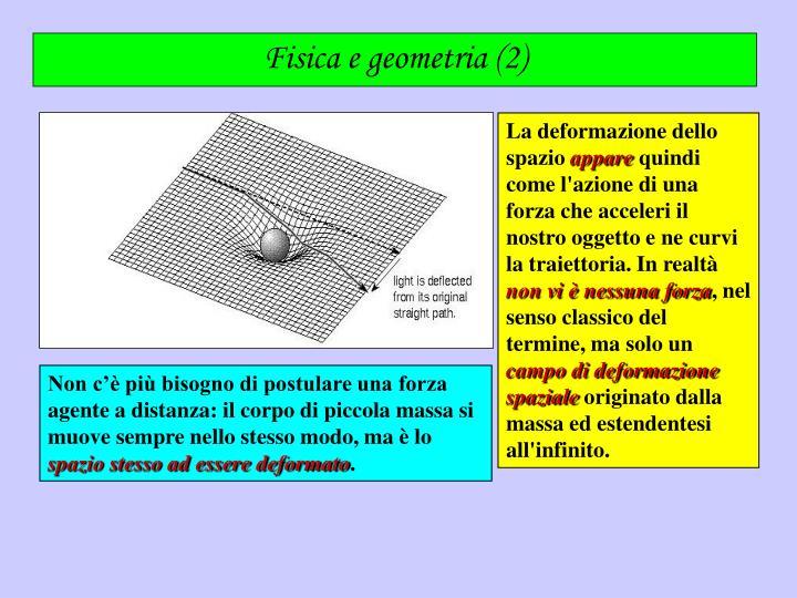 Fisica e geometria (2)
