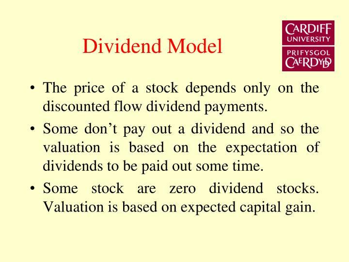 Dividend Model