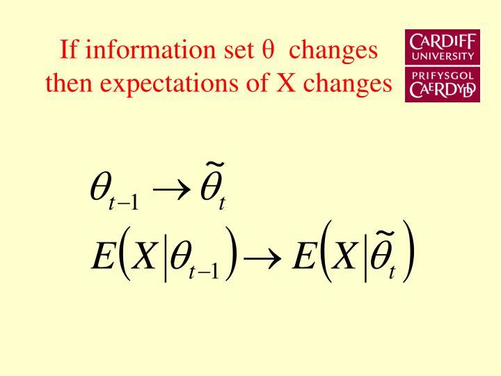 If information set