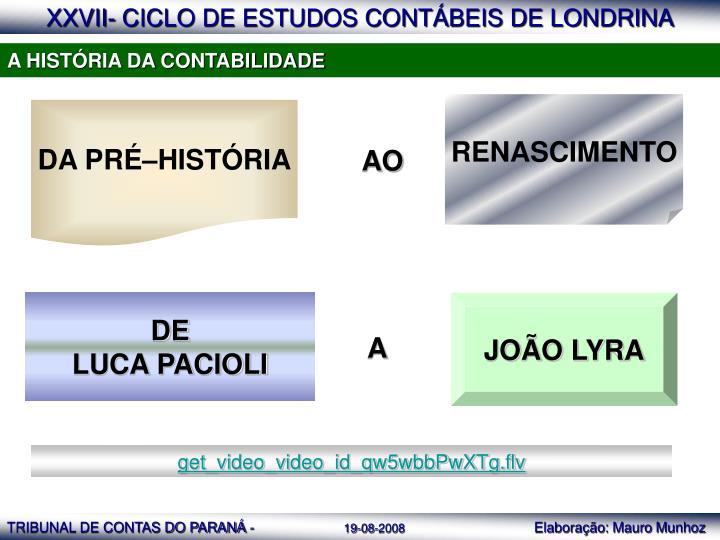 XXVII- CICLO DE ESTUDOS CONTÁBEIS DE LONDRINA