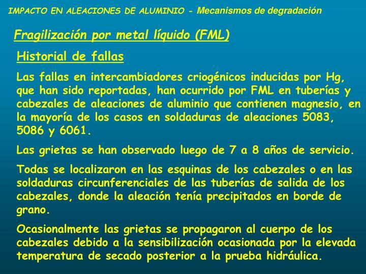 IMPACTO EN ALEACIONES DE ALUMINIO -