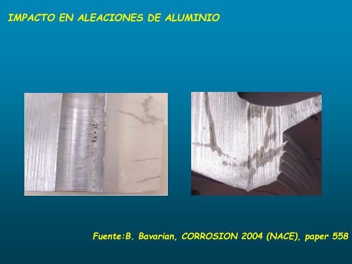 IMPACTO EN ALEACIONES DE ALUMINIO