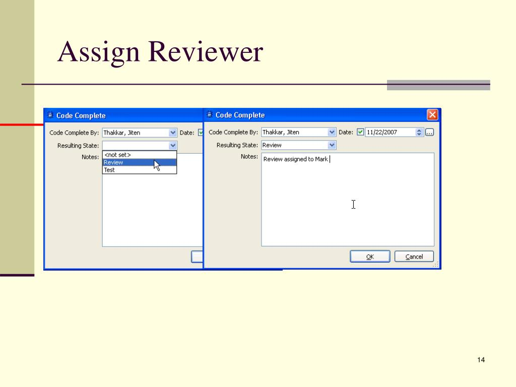 Assign Reviewer